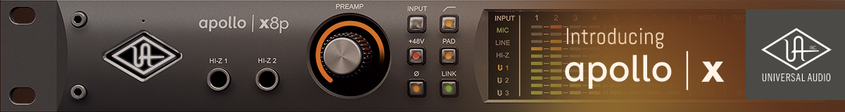 Universal Audio Announces UAD-2 Live Rack MADI Effects Processor